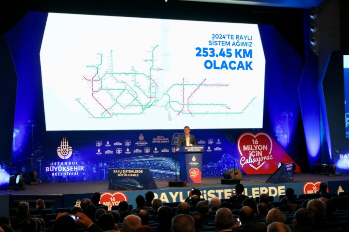 "İMAMOĞLU: ""2029 HEDEFİMİZ 622 KİLOMETRE RAYLI SİSTEM"" BLM 1"